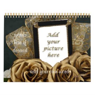 Anniversary Calendar-edit year- any occasion Calendar