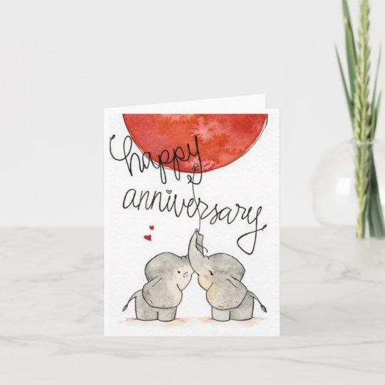 anniversary card  zazzle