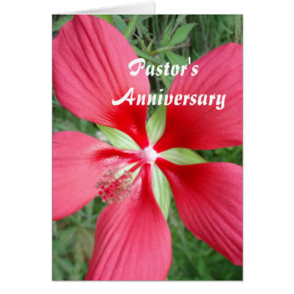 Anniversary Card for Pastor