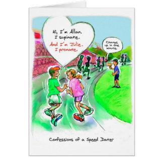 Anniversary Card for Runner - Speed Dating