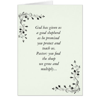 Anniversary Card _Pastor