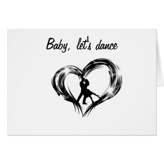 ANNIVERSARY DANCE THE NIGHT AWAY CARD
