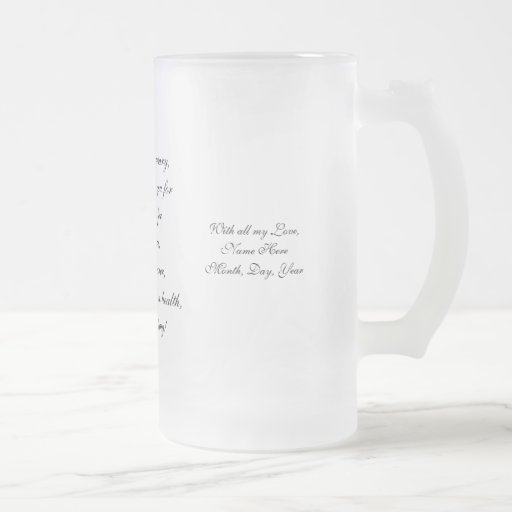 Anniversary Frosted Mug