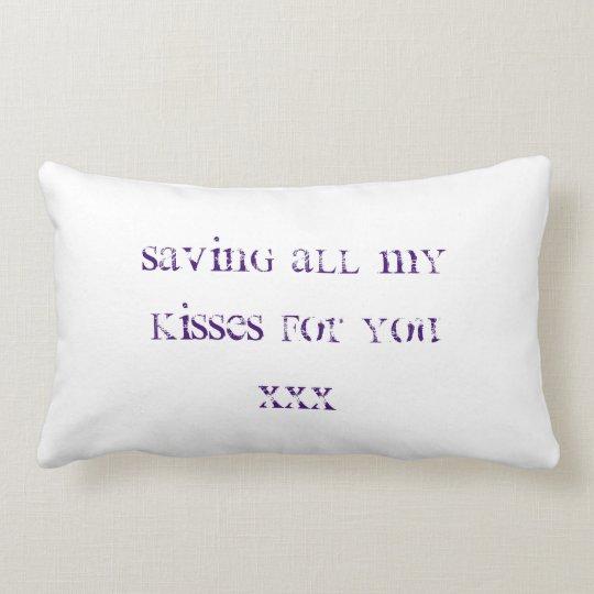 Anniversary gift for your girlfriend lumbar pillow