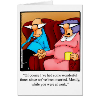 Anniversary Humor Greeting Card For Him