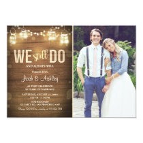 Anniversary invitation Rustic 25 30th we still do