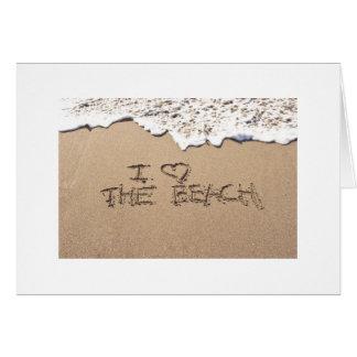 ANNIVERSARY-LOVE BEACH-YOU MÁS TARJETA DE FELICITACIÓN
