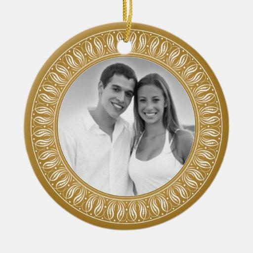 Anniversary Memento or Gift Ceramic Ornament