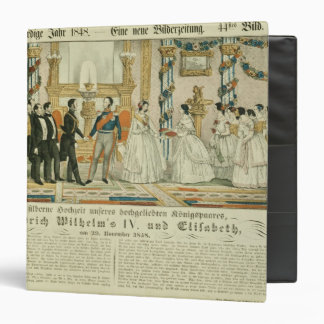 Anniversary of Frederick William IV and his 3 Ring Binder