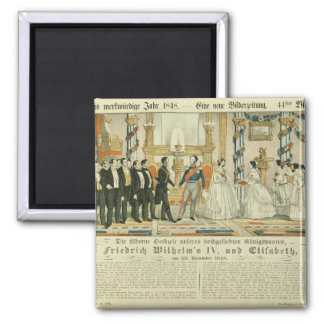 Anniversary of Frederick William IV and his Magnet