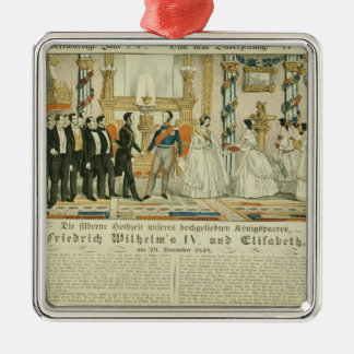 Anniversary of Frederick William IV and his Metal Ornament