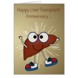 Anniversary Of Liver Transplant greeting cards Cards
