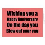 Anniversary of Natural Childbirth Greeting Card