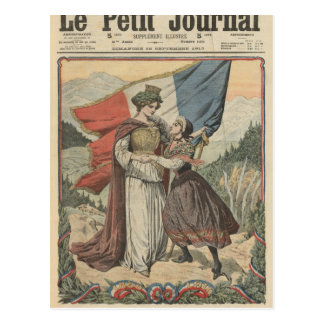 Anniversary of the annexation of Savoy to Postcard