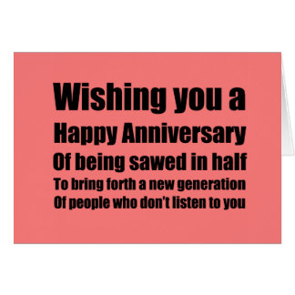 Anniversary of your c-section card