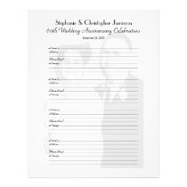 Anniversary Party Guest Book Photo Sign-In Page