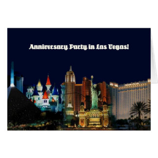 Anniversary Party in Las Vegas! Card