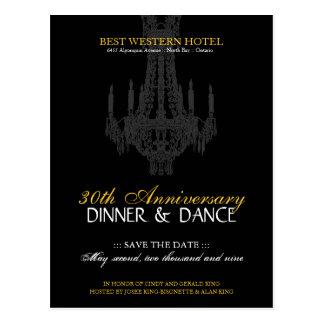 Anniversary Party Invitation Postcard