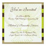 Anniversary Party Modern Dove Invitation