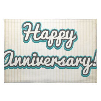 Anniversary Cloth Placemat