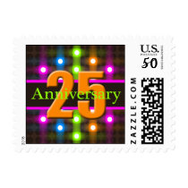 Anniversary Postage Stamps 25th
