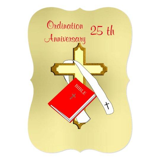 Anniversary priest ordination celebrations invitation zazzle anniversary priest ordination celebrations invitation stopboris Images