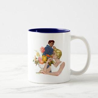Anniversary Quarrel 2 Two-Tone Coffee Mug