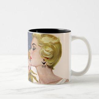 Anniversary Quarrel Two-Tone Coffee Mug