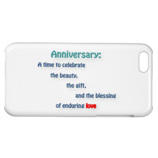 Anniversary Quote - Anniversary: A time to cele … iPhone 5C Cases
