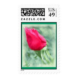 Anniversary Rosebud Postage
