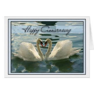 Anniversary Swans Card