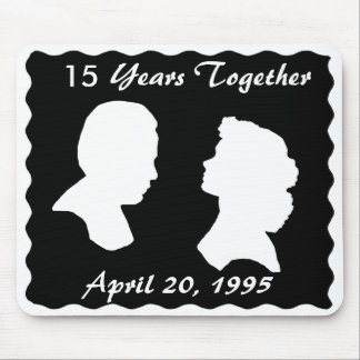 ANNIVERSARY-TIE MOUSE PAD
