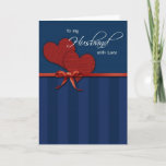 "Anniversary - To my husband w/love Card<br><div class=""desc""></div>"