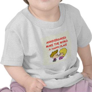 anniversary tee shirt