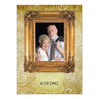 Anniversary / Wedding - SRF 5.5x7.5 Paper Invitation Card