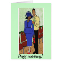 Anniversary wish card