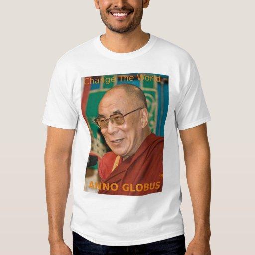 Anno Globus - Dalai Lama - orange letters T-Shirt