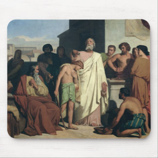 Annointing of David by Saul, 1842 Mouse Pad