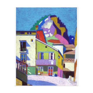 Annot landscape gallery wrapped canvas