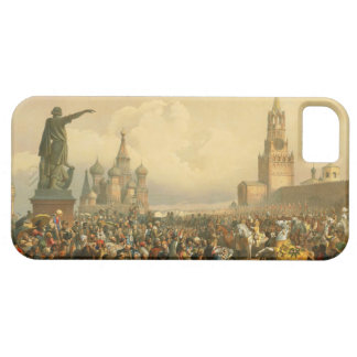 Announcement of Coronation Day by Vasily Timm 1856 iPhone 5 Case