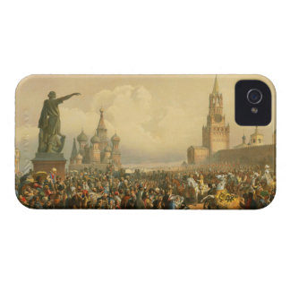 Announcement of Coronation Day by Vasily Timm 1856 iPhone 4 Cases