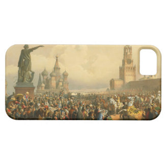 Announcement of Coronation Day by Vasily Timm 1856 iPhone SE/5/5s Case
