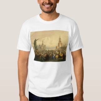 Announcement of Coronation Day by Vasily Timm 1856 Shirt