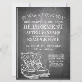 Announcement of retirement...