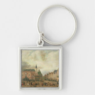 Announcement of the Peace of Breda Keychain