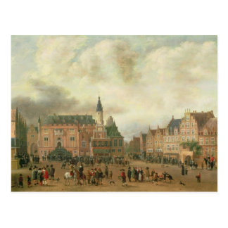 Announcement of the Peace of Breda Postcard