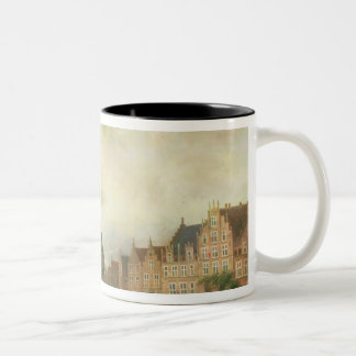 Announcement of the Peace of Breda Two-Tone Coffee Mug