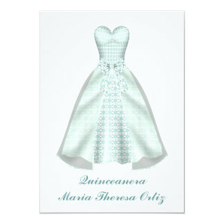 Announcement Quinceanera 15th Birthday Invitation