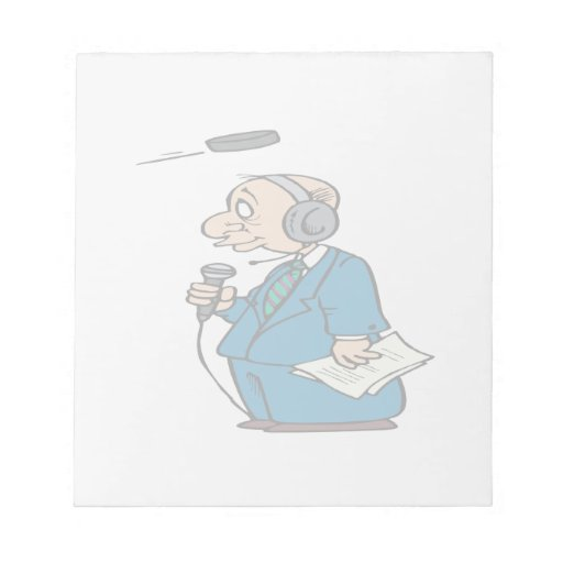 Announcer Notepad