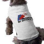 Announcing My Divorce Pet T-Shirt